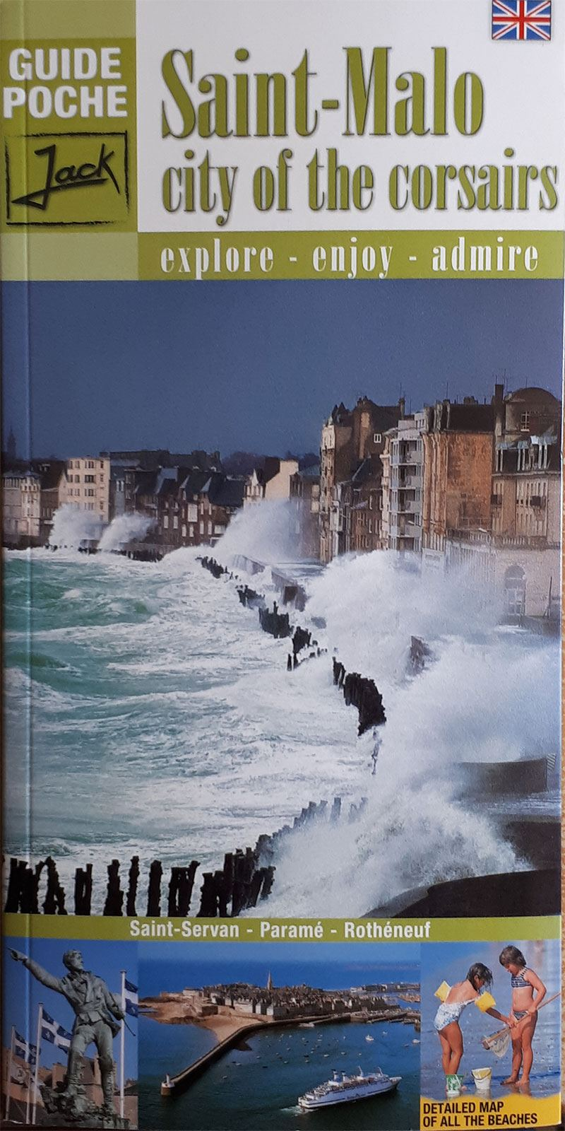 Pocket guide to Saint-Malo (version anglaise)